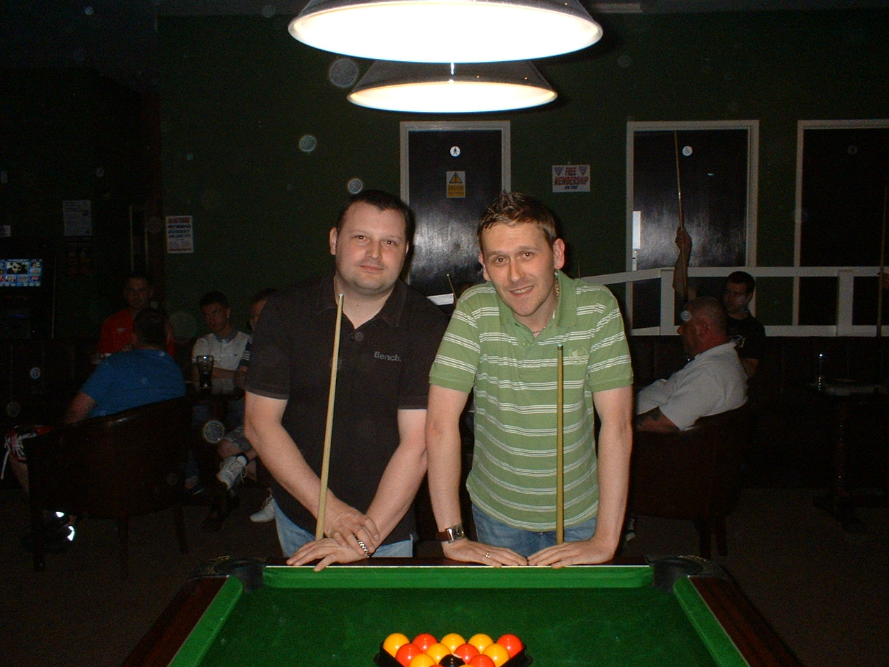 Champion Of Champions Finalists Alfie Ball Memorial Chester Le Street Pool League
